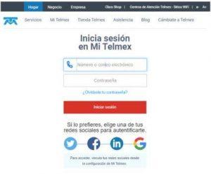 Consulta en línea del Estado de Cuenta Telmex