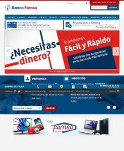stado de Cuenta Famsa por Internet