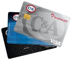 Tarjetas de crédito y débito de la institución.