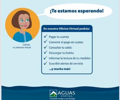 Boleta electrónica Aguas Andinas