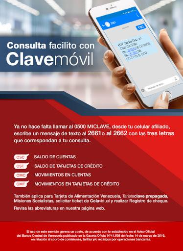 Clave Móvil Banco de Venezuela