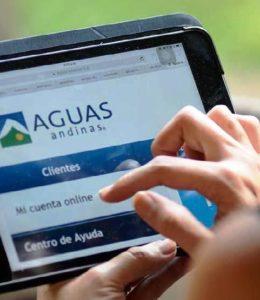 Consulta Estado de cuenta Aguas Andinas