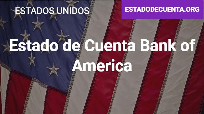Estado de Cuenta Bank of America