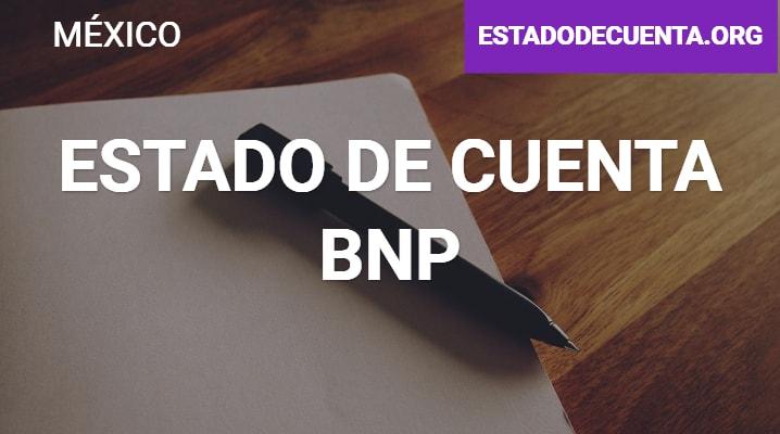 Estado de Cuenta BNP