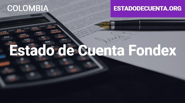Estado de Cuenta Fondex