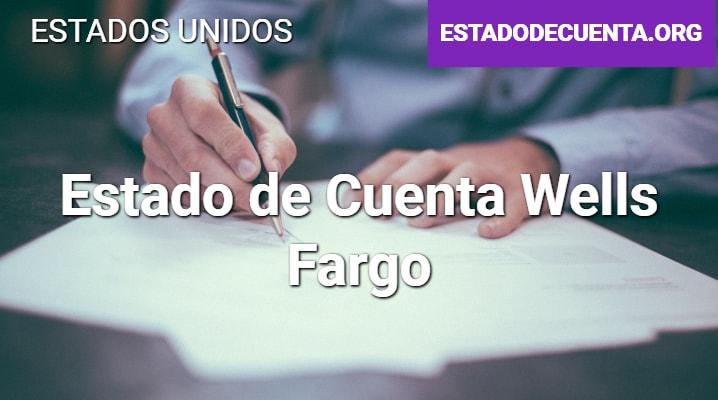 Estado de Cuenta Wells Fargo