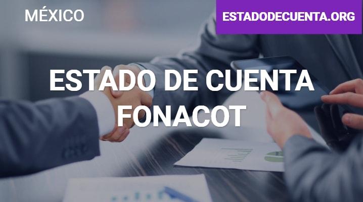 Estado de Cuenta  Fonacot