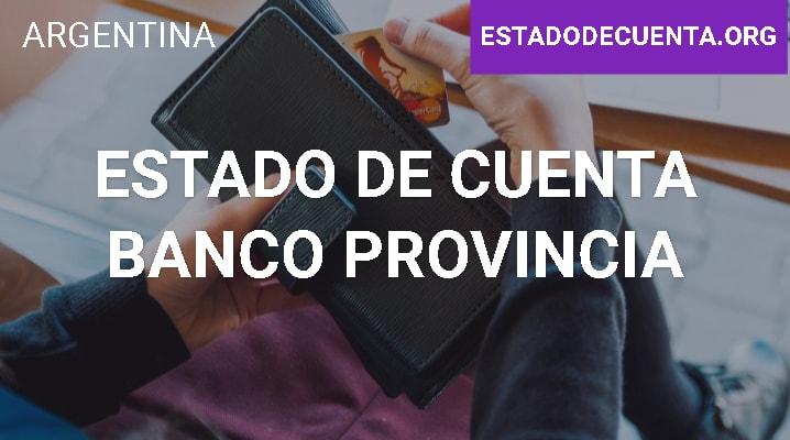 Estado de Cuenta Banco Provincia