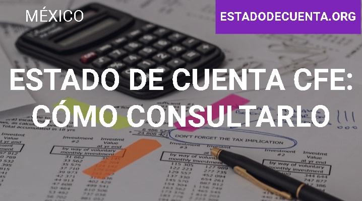 Estado de Cuenta CFE