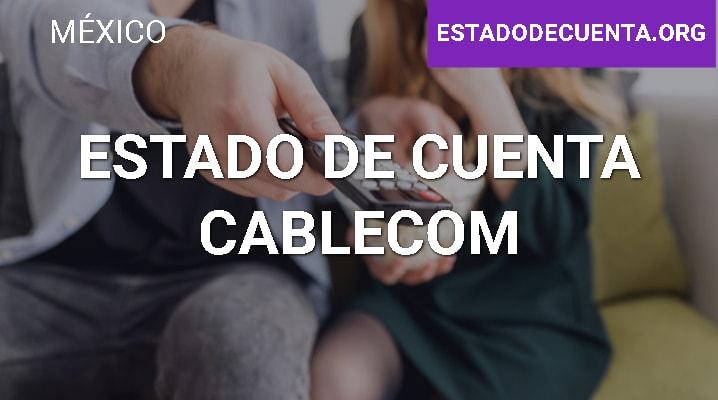 Estado de Cuenta Cablecom