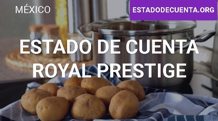 Estado de Cuenta Royal Prestige