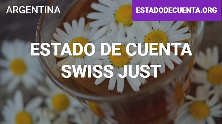 Estado de cuenta Swiss Just