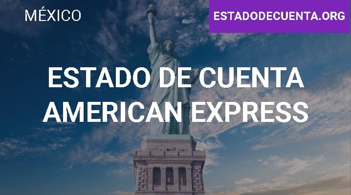 Estado de Cuenta American Express