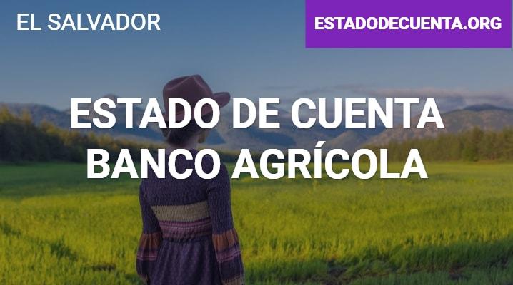 Estado de cuenta banco agrícola