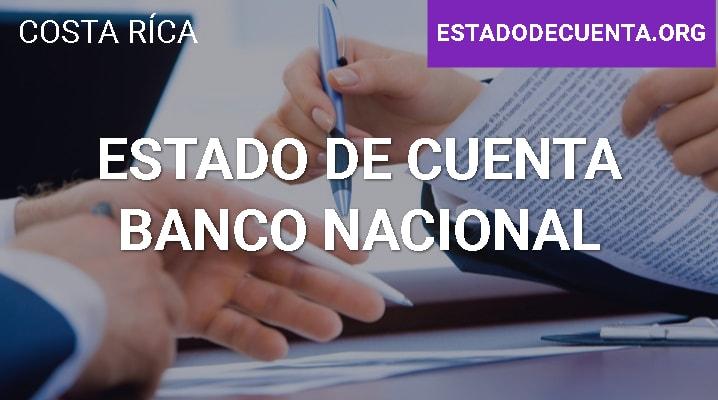 Estado de Cuenta Banco Nacional