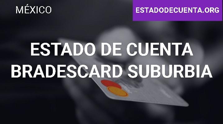 Estado de Cuenta Bradescard Suburbia