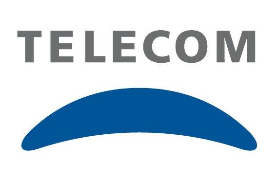 Logo oficial de Telecom