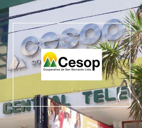 Logo y sede de Cesop