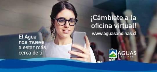 Registro Oficina virtual Aguas Andinas