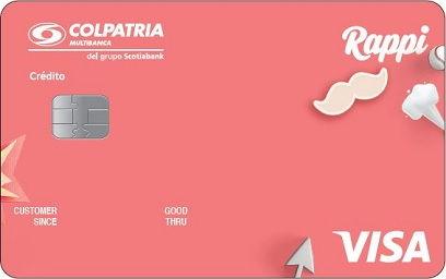 Tarjeta de crédito especializada de Colpatria