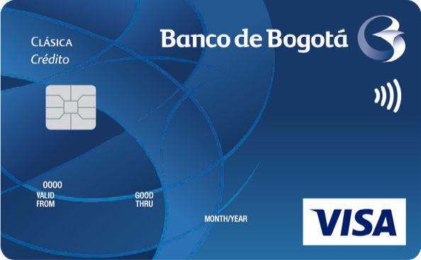 Tarjeta del Banco de Bogotá