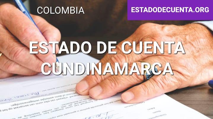 Estado de Cuenta Cundinamarca