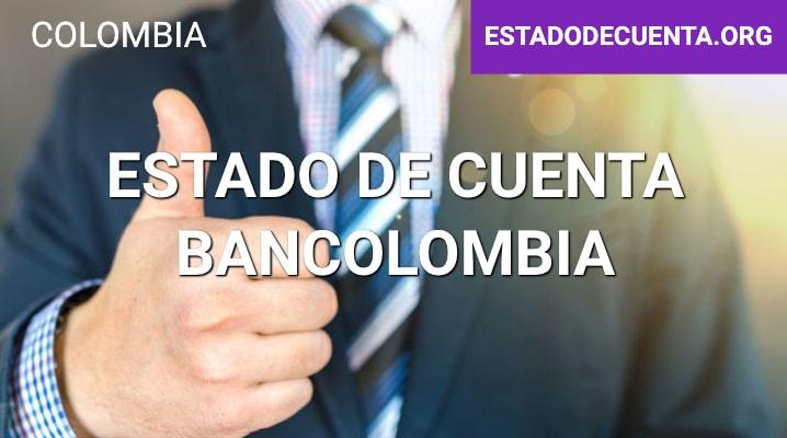 Estado de Cuenta Bancolombia