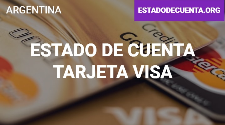 Estado de Cuenta Tarjeta Visa