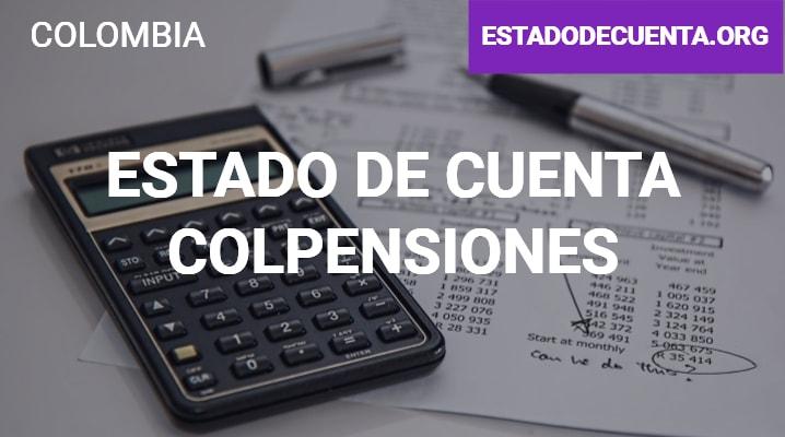 Estado de Cuenta Colpensiones