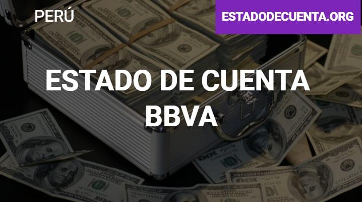 Estado de Cuenta Bbva