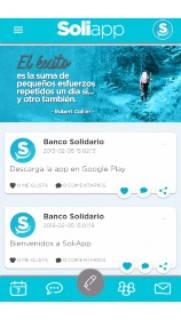 App móvil del Estado de Cuenta Banco Solidario