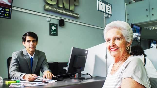 Atención al pensionista OnpPerú