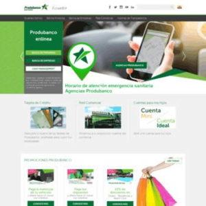 Consultar Estado de Cuenta Produbanco vía web