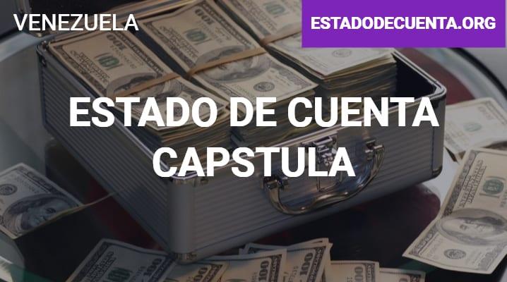 Estado de Cuenta Capstula