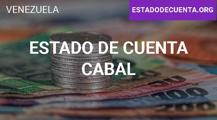 Estado de Cuenta Cabal