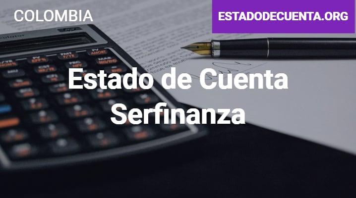 Estado de Cuenta Serfinanza