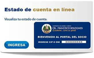 Estado de cuenta online Bolognesi