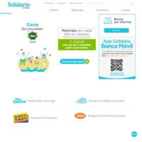 Página web del Banco