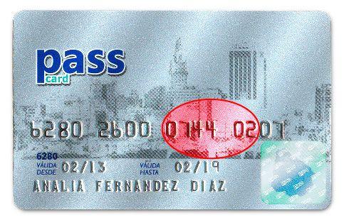 Tarjeta de Passcard