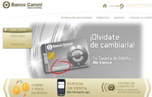 Banca Digital Caroní