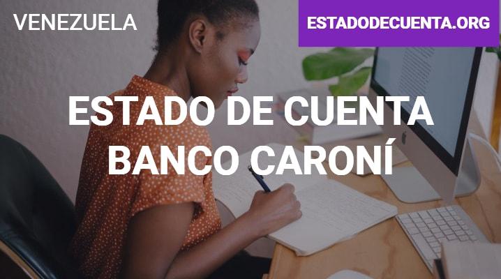 Estado de Cuenta Banco Caroní
