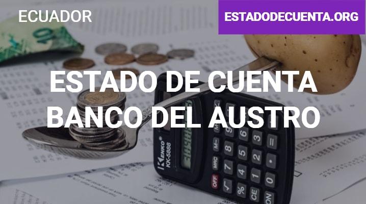 Estado de Cuenta Banco del Austro